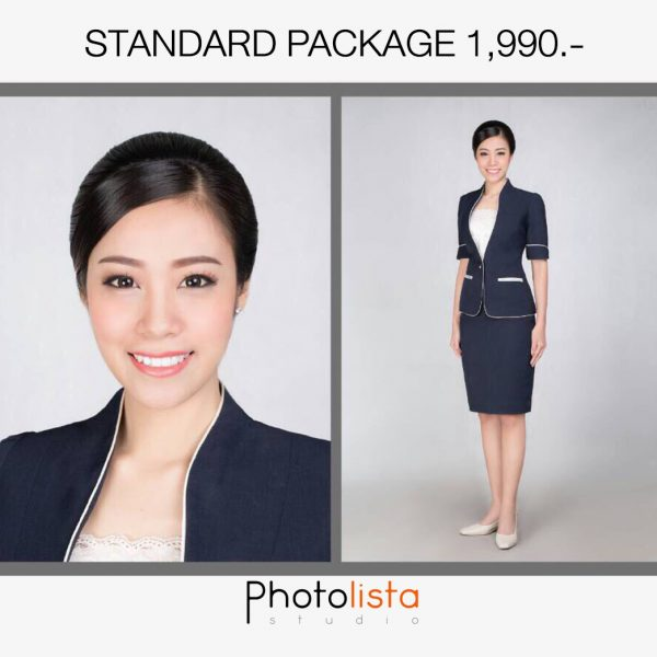 Standard package 1,990 ฿/set